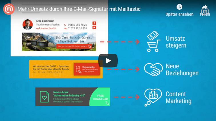 Mailtastic Youtube