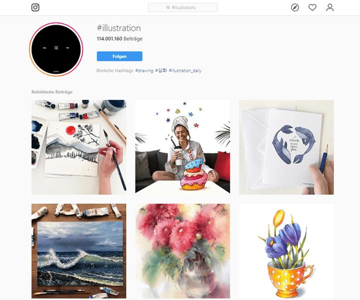 Illustrations Instagram